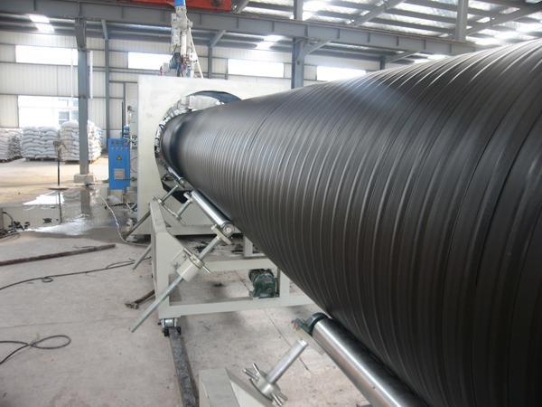 河北PE钢带增强螺旋波纹管